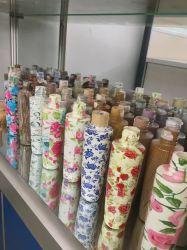 Botella de plástico PET de cosméticos de Yuyao, China (patrón de madera)