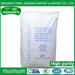 Grau Alimentício conservante propionato de cálcio