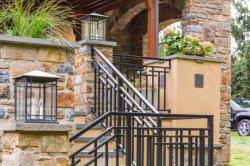 贅沢なホームのための豪華なSurperの品質の錬鉄の柵