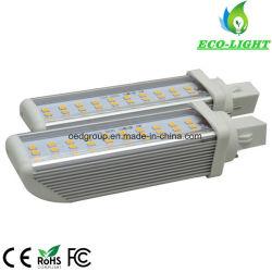 E27 2 Pins 4 Pins مصباح LED طراز G24 بقوة 10 واط لـ مصباح السقف SMD2835 Pl LED يضيء لأسفل