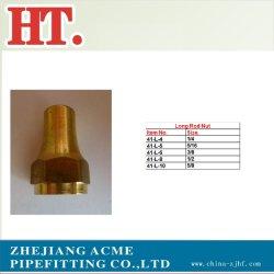 高品質の長い棒の黄銅のナット