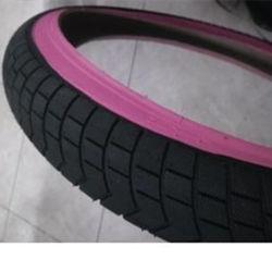 Kinder Fahrradreifen Schwarz Reifen mit Farbe Wand