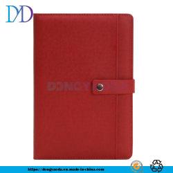 A5 High-End Fabrikanten van de Bedrijfs van het Notitieboekje kan het Notitieboekje van de Agenda van de Kantoorbehoeften van het Bureau worden aangepast