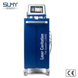 Super эффективного 6 в 1 Похудение тела похудение RF кавитации вакуума лазерный салон машины