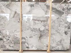 Серый/белый мрамор слоев REST/плитки/камня на пол/место на кухонном столе/стола/ванная комната/зеркала в противосолнечном козырьке/полу плитки на стене