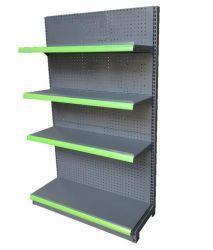 Mezcla de color negro verde Tienda estanterías