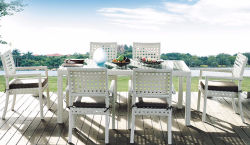 Canne mobilier outdoor chaises et table