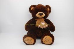 El muñeco de peluche Osito de peluche suave con Bowknot juguete de felpa para niños