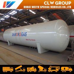 Q345r Het Kokende Gas van de Tank van het Propaan van de Tank van de Opslag van LPG van het Koolstofstaal 40mt voor het Vullen van Installatie