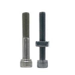 DIN912 SS304 / 316 roestvrijstalen zeskantige kruiskopstekker met kruiskopjes gekarteld Zeskantige kop met zinklaag