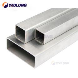 304 316L сварные трубы квадратного сечения из нержавеющей стали и Труба прямоугольного сечения