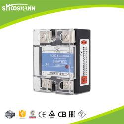 Contrôle de température d'entrée W Rail DIN SSR 60A-60da relais de l'état solide