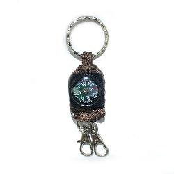 Emak мини-компас многофункциональный выживания на улице цепочке для ключей