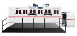 Les boîtes de plastique PET pli automatique machine, des boîtes en plastique Machine de découpe de feuille