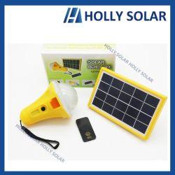 La energía solar portátil recargable LÁMPARA DE LED Bombilla 3500mAh Batería LiFePO4