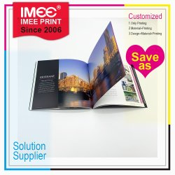 Brochure Brochure Imee Catalogue 4 l'impression couleur avec reliure Swening