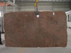 Noir/gris pierre naturelle de l'Inde multicolor rouge/poli perfectionné/flammé/brossé/sciés granit pour les intérieurs/ extérieures/sol/mur Extérieur