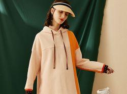 Vestito di grande misura da Hoodie delle donne allentate di usura di sport di fabbricazione