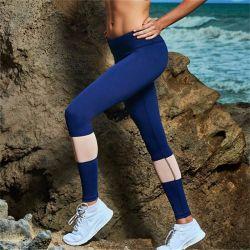 Cinturón nylon spandex ajustados pantalones de Yoga Yoga pantalones de deporte Leggings Slim