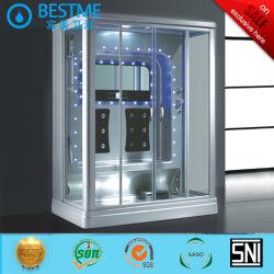 2 personne jointe Massage salle de douche à vapeur whirlpool, douche à vapeur avec TV (BZ-802A)
