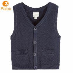 Fabriek Cardigan Vest OEM Borduurwerk Design Herfst Kerst Knitting katoen Kinderkleding