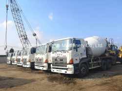Utiliza 700 Hino Hormigonera Camión 6X4 9cbm con motor Diesel