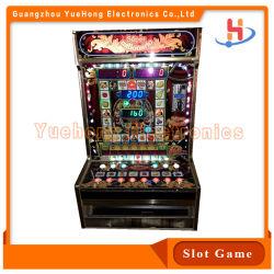 Programa animal armário metálico de alta Jackpot Casino Slot de entrada de máquinas de jogo