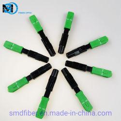 Connecteur rapide étanche SC/APC connecteur rapide à fibre optique
