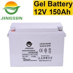 El plomo selladas de plomo ácido carbono 12V 120Ah 150Ah batería VRLA UPS batería de gel Solar banco de baterías recargables de Litio Pack