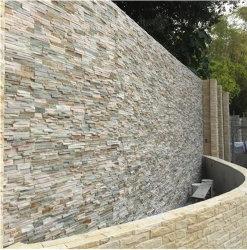 Revêtement mural en ardoise d'élevage artificiel de la pierre pour jardin/Decorative/Extérieur/toiture/l'aménagement paysager/environnement