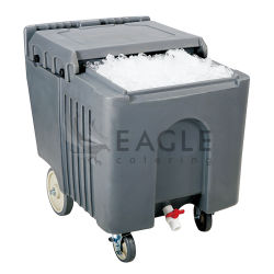 Commercial Catering Food Cooler Sliding Ice 캐디