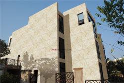 2cm de color beige travertino mosaicos de piedra al aire libre la pared del edificio