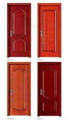 中国の木製の一見の機密保護の鋼鉄ドア