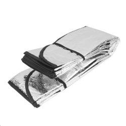 Auto lámina cromada sombrilla Parasol reflectante para la cubierta de coche
