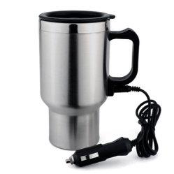 Heiße doppel-wandige Edelstahl-Kaffeetasse-lebhafte Arbeitsweg-Becher