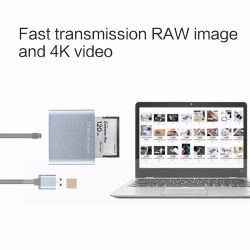 3.0 Cfast USB 2.0 Adaptador de tarjeta de lector de tarjetas Cfast
