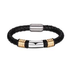 Les hommes en acier inoxydable bracelet boucle magnétique à aimant les hommes Bangle