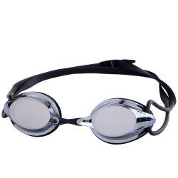 Nuoto adulto personalizzato degli occhiali di protezione di nuotata degli occhiali di protezione della concorrenza del silicone che corre i vetri
