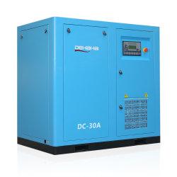 30HP 22kw dirigono il compressore d'aria industriale elettrico guidato della vite con l'estremità dell'aria di Hanbell