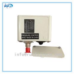 Danfossの電圧制御装置Kpシリーズ調節可能なリセットKp5 060-1171の高圧自動のハイ・ロー圧力スイッチ