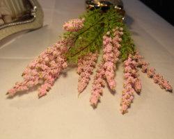 Fleurs artificielles Décoration rose rose Latex vraie touche les fleurs en soie