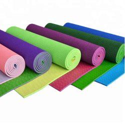 Het milieuvriendelijke x-Kruis van het Pak van de Mat van de Katoenen Yoga van het Canvas Dragende versterkt de Zak van de Yoga van de Slinger van het Handvat met het Aangepaste Embleem van het Borduurwerk
