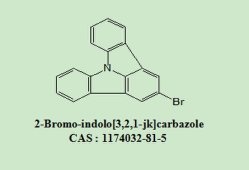 يتوسط OLED 2-Bromo-Indolo[3, 2, 1-JK] 1174032-81-5