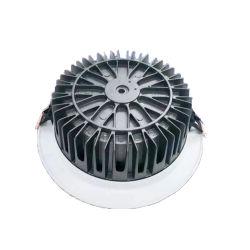 Dissipateur de chaleur LED haute puissance vide en plein air du boîtier de feu de la rue moulage sous pression en aluminium de Shell