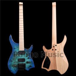 Kopflose Aschen-Karosserien-elektrische Gitarre der Pango Musik-Fabrik (PWT-726)
