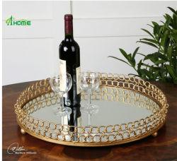 Het Dienblad van het Fruit van het Metaal van het Ontwerp van de manier voor de Decoratie van /Hotel/Restaurant van het Huis