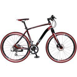 700c 16скорости алюминиевых город дорога на велосипеде с подвеской вилочного захвата