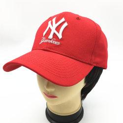 3D Embroidery brodé de Ny Hat Fashion Européens et Américains, hommes et femmes's Sports Sun Cap Rouge Sport Baseball Cap