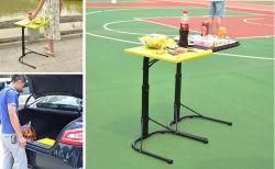 Tragbares, Faltbares PP-Kunststoff-Notebook und Einklapptisch für den Kaffee für den Innen- und Außenbereich