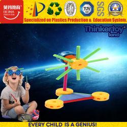 2017 neue pädagogische Spielzeug-Roboter-Installationssätze Tür-Spiel-im Plastikgang-Spielzeug